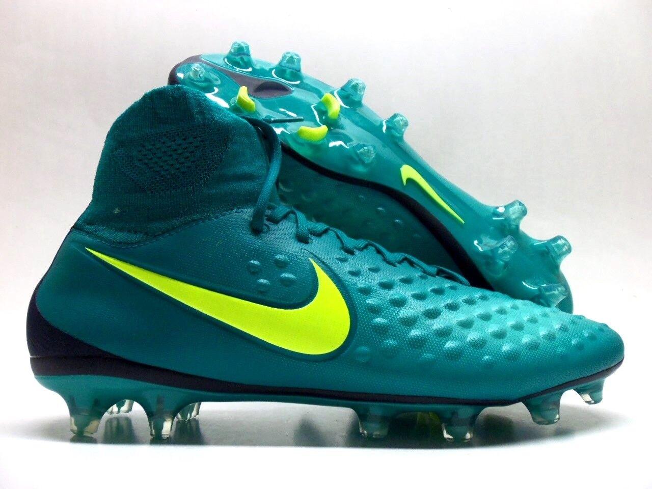Nike magista orden ii fg schuh rio blaugrün / volt-obsidism größe männer 10,5 [843812-375]