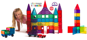 colorful Magnetic Building tiles 118 pieces- Free 3 day shipping