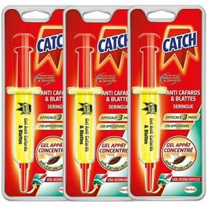 CATCH-Gel-Anti-cafards-3-Seringue-10-g-Produit-Anti-Cafards-de-Maison-Puissant
