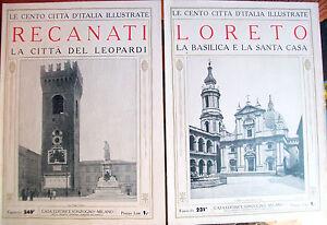 1924-RECANATI-LORETO-LOTTO-DI-DUE-RIVISTE-ILLUSTRATE