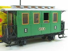 LGB 3010 Personenwagen grün 2. Klasse mit Figuren OVP (D2571)