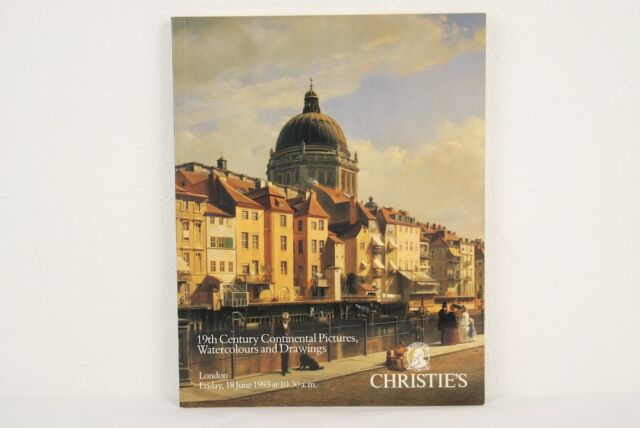 Auktionskatalog Christie's London 19th Century Continental Pictures 18.06.1993