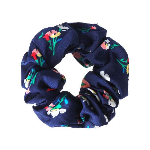 Women Hair Scrunchies Multicolor Elastic Hair Bands Scrunchy Hair Ties Ropes