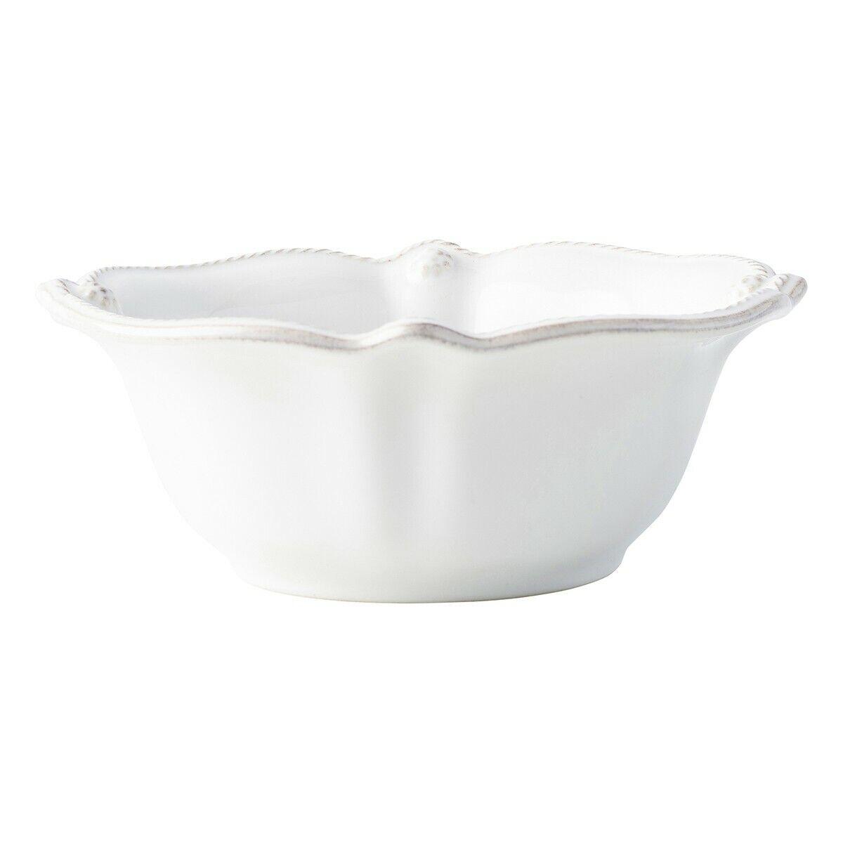 Juliska Berry & Thread blancwash céréales-Crème Glacée Bol-Lot de 8