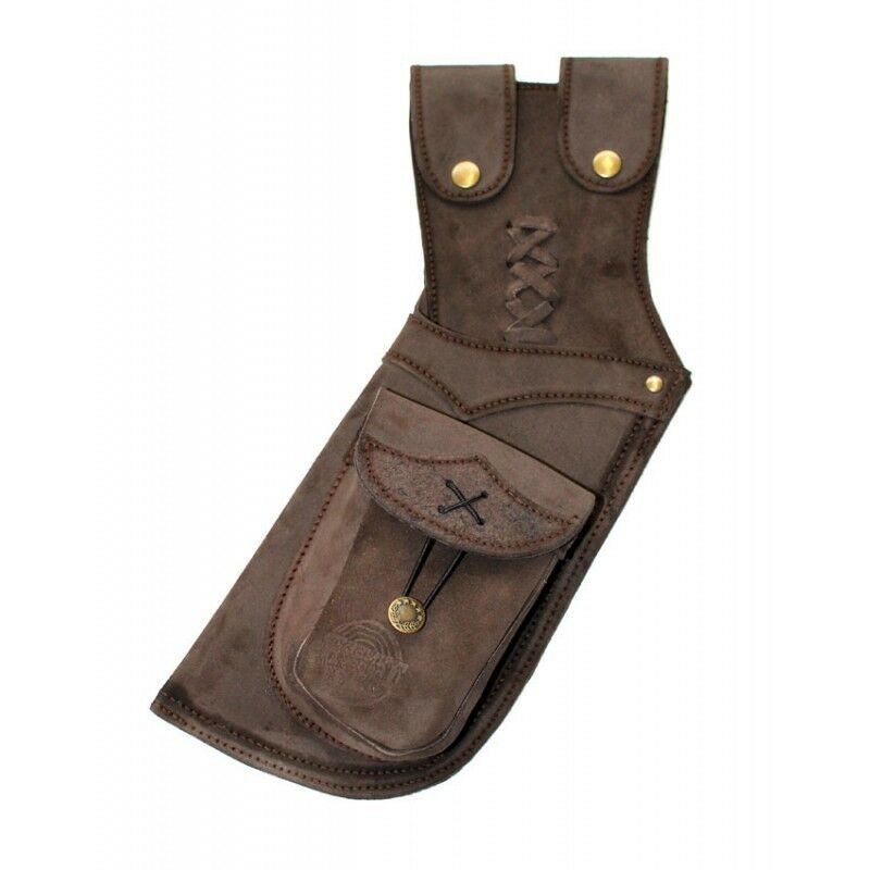 Timber Creek Archery Leather Hip Quiver