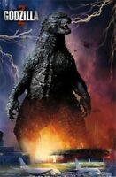 Warner Brothers Godzilla Movie Airport Poster 22x34 Fast Free Shipping