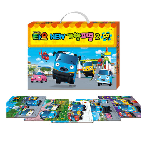 Tayo the Little Bus NEW Bag Puzzles Toy 5 Type Character Children Kids Gift B