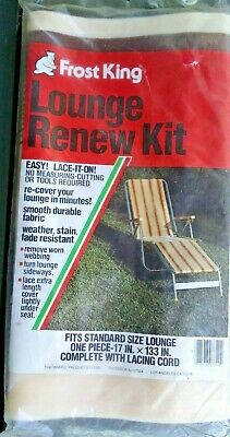 Vintage Frost-King Chair Re-New Kit