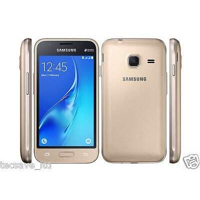 BRAND NEW SAMSUNG GALAXY J1 MINI DUAL SIM *2016* 8GB Smartphone J105H/DS- GOLD