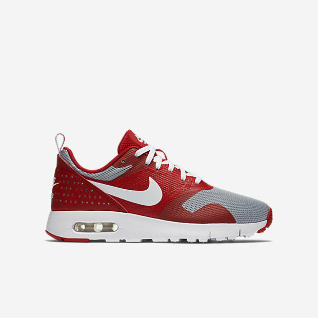 cheaper d074e f3f2d ... reduced nike air max tavas gs red grey kids youth running shoes  sneakers 814443 602 7