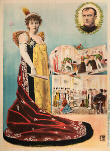 Affiche-Originale-Madame-Sans-Gene-Theatre-Napoleon-Vaudeville-V-1893