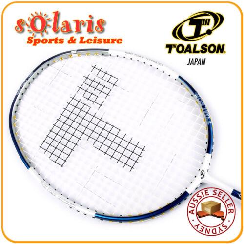 TOALSON MEGA FLEX NANO POWER 55 Full Graphite Pro Badminton Racket Strung