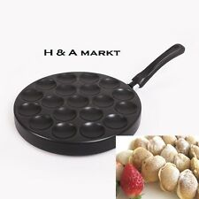 Pan Poffertjes Dutch Pancake Pan Mini Small Balls Crepe Panekoken Takoyaki GAS