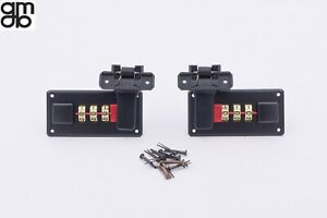 Coppia serrature a combinazione nere per valigie 24 ore e beauty cases