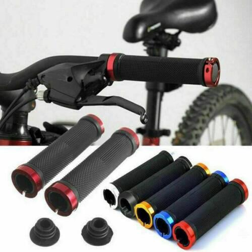 1 Pair Durable Mountain Bike MTB Ergonomic Bicycle Bar End Handlebar Grips New