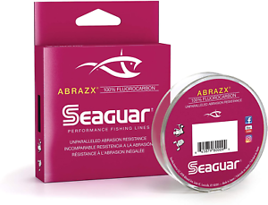 Seaguar AbrazX Fluorocarbon Line - 200 Yard Spool, Choice of Line Size