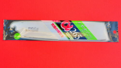 """Japanese Z-saw Zsaw saw KATABA ALPHA 265mm 10.4/"""" curved rounded spare blade"""