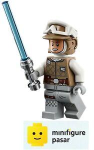 sw1143 Lego Star Wars 75298 - Luke Skywalker Hoth Minifigure w Lightsaber - New