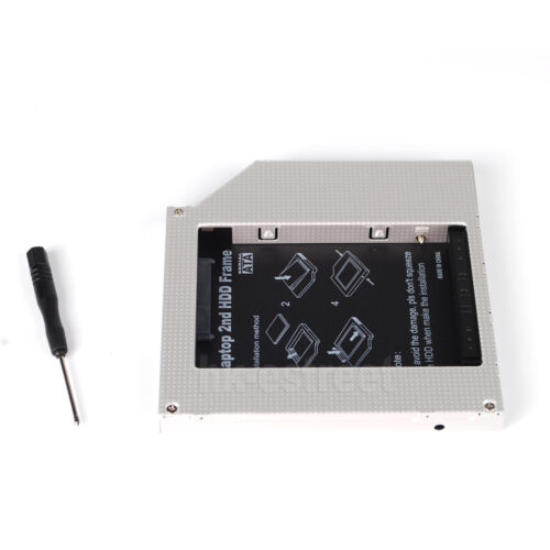 PATA IDE Second 2nd hard drive HDD//SSD caddy for Alienware M7700 Clevo D9T D9K