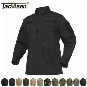 TACVASEN-Mens-Tactical-Combat-Uniform-Shirts-US-Army-Camouflage-Military-Jackets