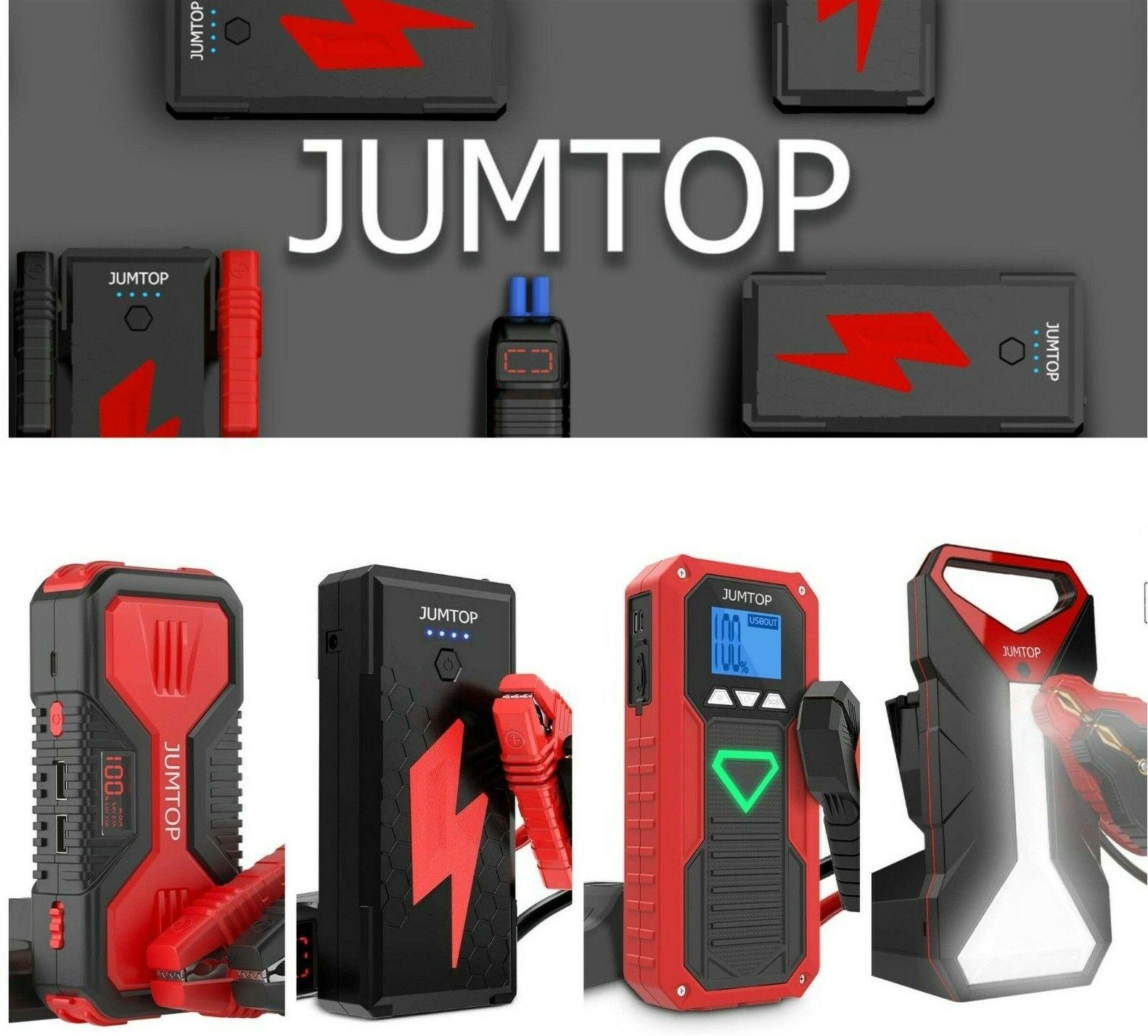 ⚡️ JUMTOP 4000A-1200A Peak Portable Car Jump Starter Battery Booster SEALED ✨