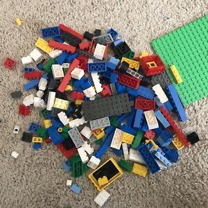 LEGO 12 Ounce - 1 Pound - Bricks Parts & Pieces mixed Bulk Lot