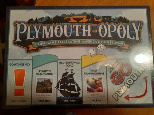 Rare Monopoly PLYMOUTH-OPOLY!!!!