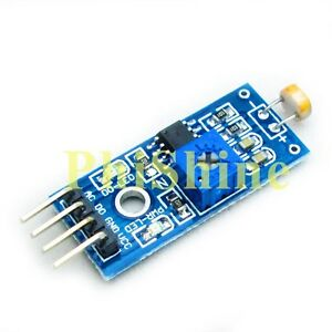 2PCS-Digital-Light-Intensity-Photosensitive-Sensor-Photo-Resistor-Module