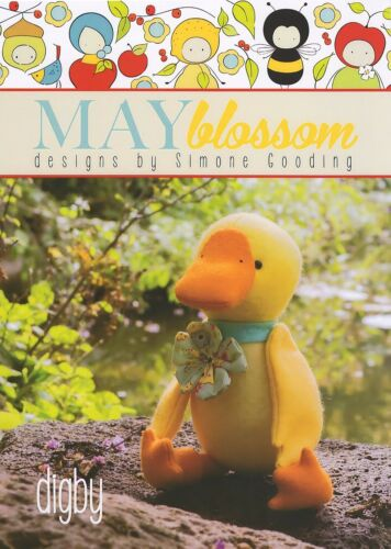 Digby Duck-Sewing Craft Pattern-Feutre Bird Pattern