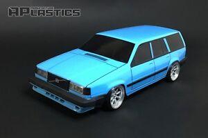 RC-Karosserie-Auto-Drift-Touring-1-10-Volvo-740-745-760-Wagon-Style-aplastics-NEU-Schale