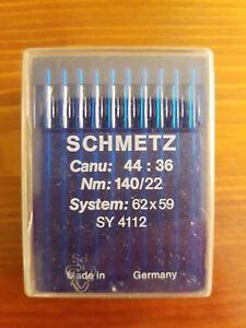 100 St. Nähmaschinennadeln Nähnadeln Nadeln SCHMETZ System 62x59 Nm 140 - Hamburg, Deutschland - 100 St. Nähmaschinennadeln Nähnadeln Nadeln SCHMETZ System 62x59 Nm 140 - Hamburg, Deutschland