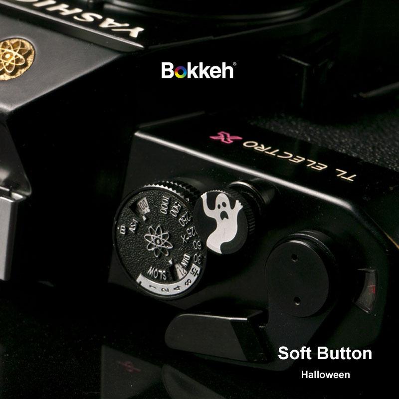 [ Halloween Black ] Small Shutter Soft Release Button Metal Leica M6 M3 RF SLR