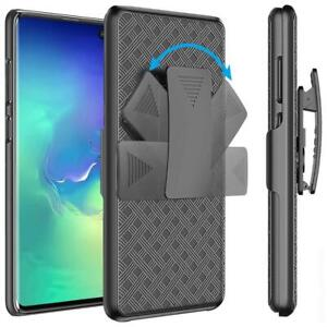 SHELL-CASE-COMBO-BELT-CLIP-HOLSTER-COVER-W-KICKSTAND-Q5L-for-SAMSUNG-GALAXY-S10E