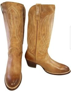 0870bff054b ARIAT WOMAN BOOTS WESTERN COWBOY BROWN SIZE 11 B NEW | eBay