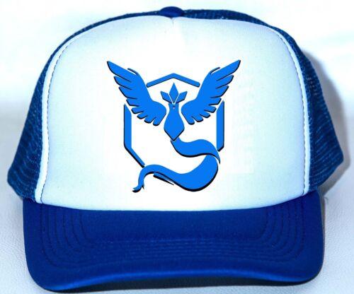 Pokemon Go TEAM MYSTIC Hat Cap game cosplay Halloween costume USA SHIPPER