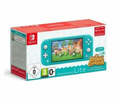 NINTENDO Switch Lite Turquoise & Animal Crossing: New Horizons - Currys