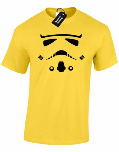 TROOPER FACE MENS T SHIRT STAR STORM WARS PREMIUM MOVIE FILM TOP