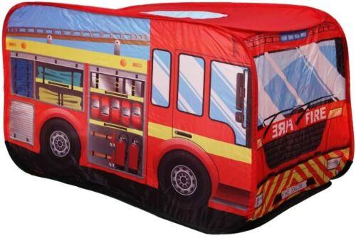 Zelt Feuerwehrwagen Spielzelte Feuerwehr !! Pop Up!!!