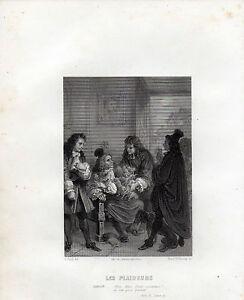 THEATRE DE RACINE 1860 - Les plaideurs