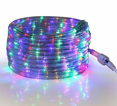 24 Feet Indoor /& Outdoor- 2 Pack 7.3 m Tupkee LED Rope Light COOL-WHITE