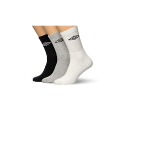 aba7b40b878f Image is loading 12-Pairs-Mens-Umbro-Calf-Socks-Assorted-Black-