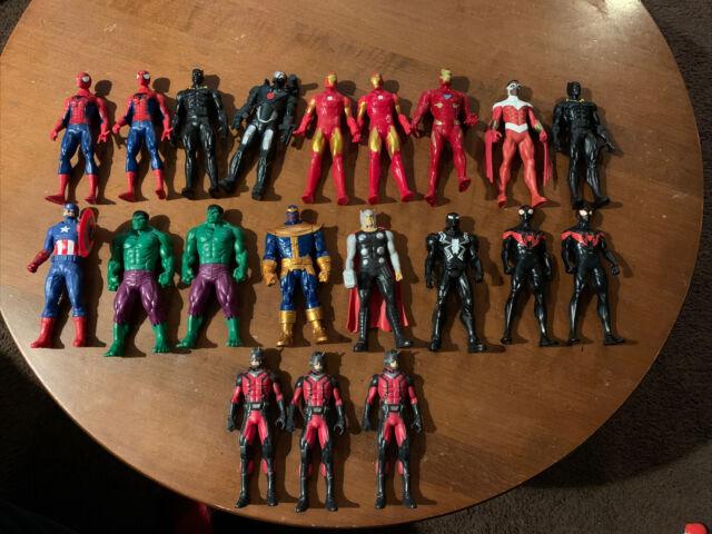 "Marvel Super Hero Figure Lot Of 20 Avengers 6"" Basic Hasbro 2015 2016 RARE THOR"