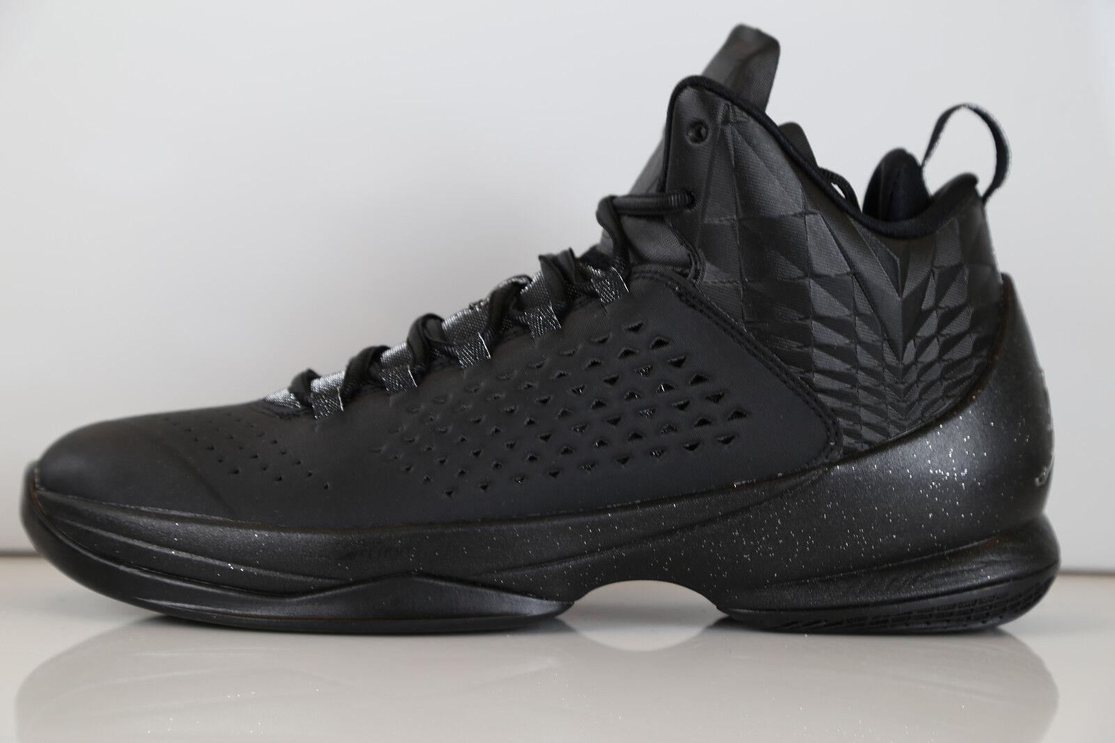 Nike Air Jordan Melo M11 Black Metallic Silver 716227-010 8-14 retro 1 11 3 4 7