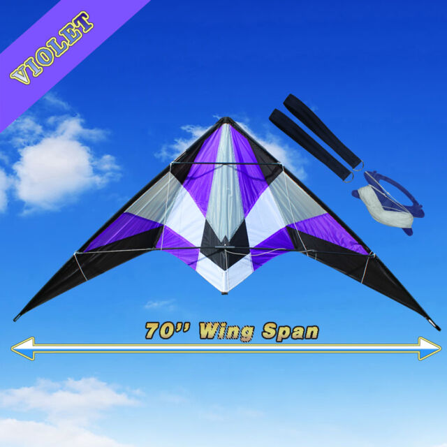 New 1.8m 5.9ft Professional Dual Line Control Stunt Kite Outdoor Fun Sports Toy