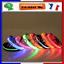 COLLIER-A-LED-LUMINEUX-EN-NYLON-POUR-CHIEN-SECURITE-NOCTURNE-LED-NEUF miniature 1
