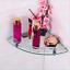 7mm-Wall-Mounted-Glass-Corner-Shelf-Home-Bathroom-Storage-SOAP-DISH-RACK-Holder thumbnail 1