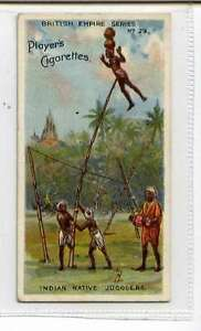 Jk625-100-Players-British-Empire-Indian-Native-Jugglers-1904-29