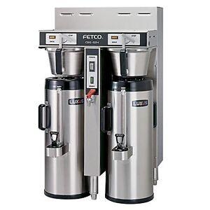 Fetco Dual 1.5 Gallon Thermal Coffee Brewer CBS-52H-15 eBay