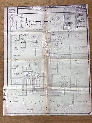Sunbeam Tiger Mark Wiring Diagram on