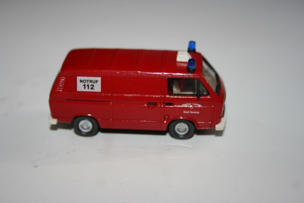 Wiking 1 87  Volkswagen Feuerwehr (11), ohne OVP (Vit8)